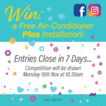 Free Air Conditioner Competition
