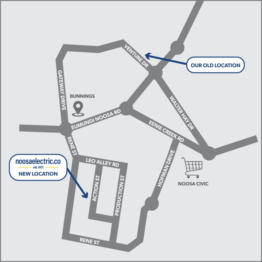 NECO Noosaville Map