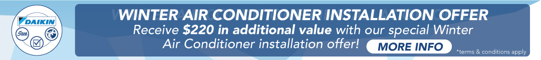 Winter Air Conditioner Offer